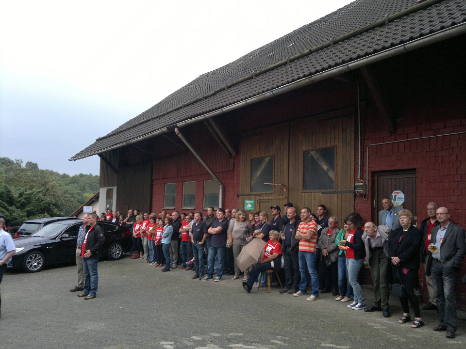 Protest in Uerzell
