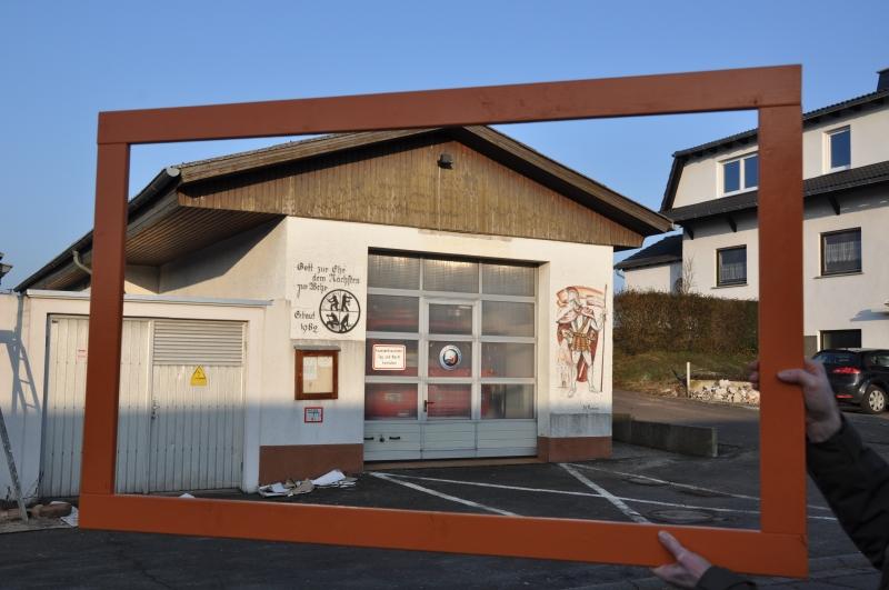 Das alte Feuerwehrhaus...